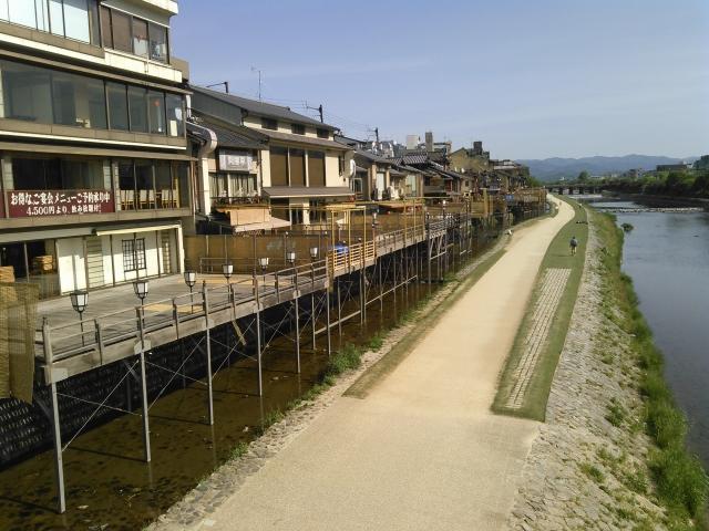 京都の納涼床